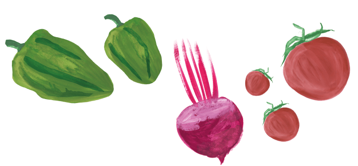 background vegetables